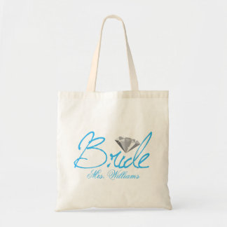 Diamond Bride Tote Bag