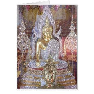 Diamond Buddha Card