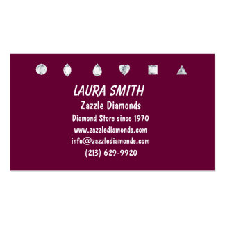 DIAMOND BUSINESS CARD