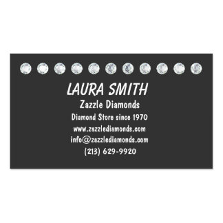 DIAMOND BUSINESS CARD-Grey Pack Of Standard Business Cards