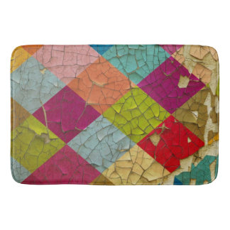 Diamond Chipped Paint Bath Mat