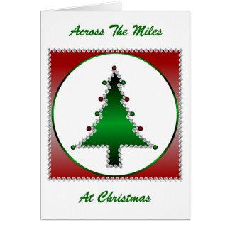 Diamond Christmas Tree Greeting Card