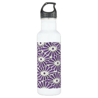 Diamond Chrysanthemums delicate pattern 710 Ml Water Bottle