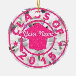 Diamond Class Of 2015 Graduation Ornament