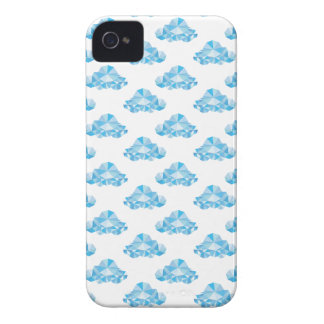 Diamond Clouds in the Sky Pattern iPhone 4 Cases