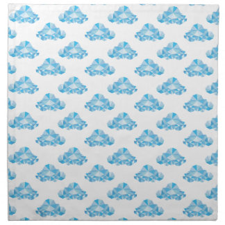 Diamond Clouds in the Sky Pattern Napkin