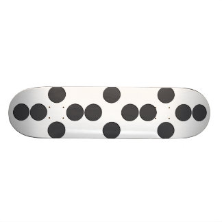 Diamond DarkGrey Dots Skate Board Decks
