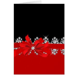 Diamond Delilah - Red Hot! Card