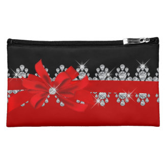 Diamond Delilah - Red Hot! Cosmetics Bags