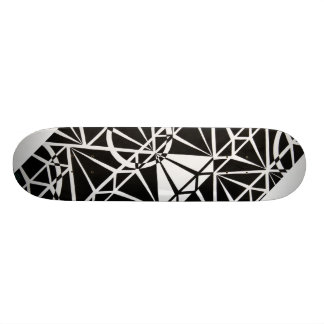 Diamond design skateboard
