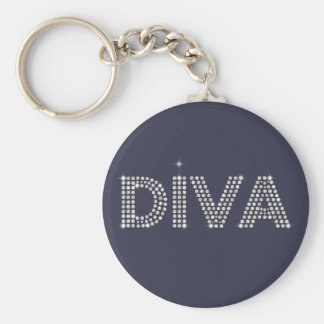 Diamond Diva Key Ring