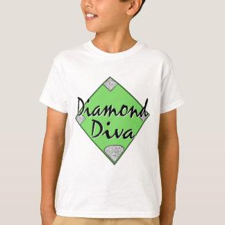 Diamond Diva Softball T-Shirt