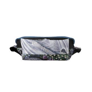 Diamond Dragon Rickshaw Messenger Bag