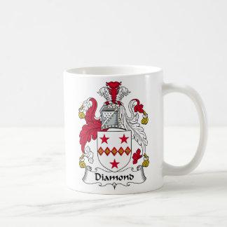 Diamond Family Crest Basic White Mug