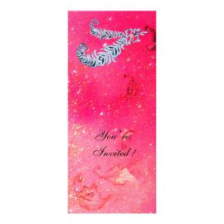 DIAMOND FEATHERS pink sparkles Announcement