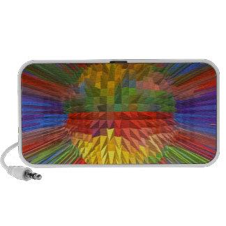 Diamond Flower Digital Graphic ART Gifts FUN love Speaker System