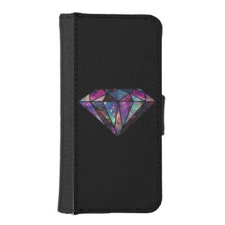 Diamond Galaxy Wallet Case