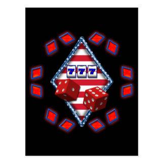 DIAMOND GAMING POSTCARD
