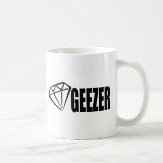 DIAMOND GEEZER BASIC WHITE MUG