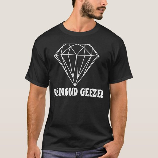 Diamond Geezer T Shirt Dark