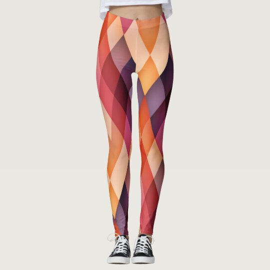 Diamond Geometric Leggings