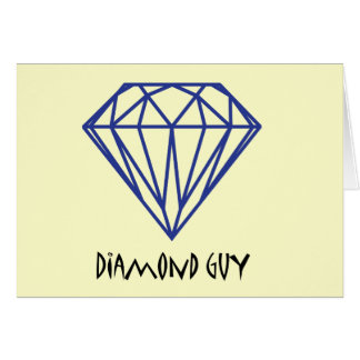 Diamond Guy Greeting Card