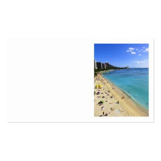 Diamond Head and Waikiki Pack Of Standard Business Cards