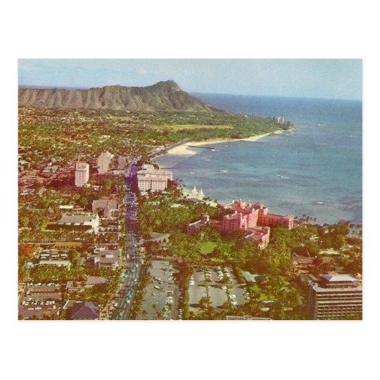 Diamond Head Hawaii Postcard