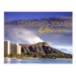 Diamond Head, Honolulu, Hawaii Postcard