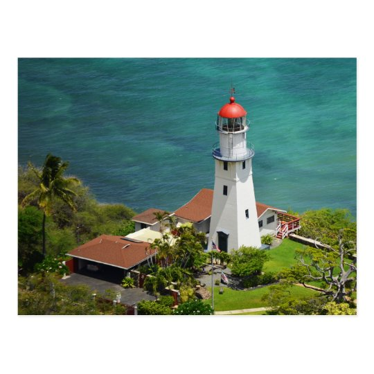 Diamond Head Lighthouse Postcard
