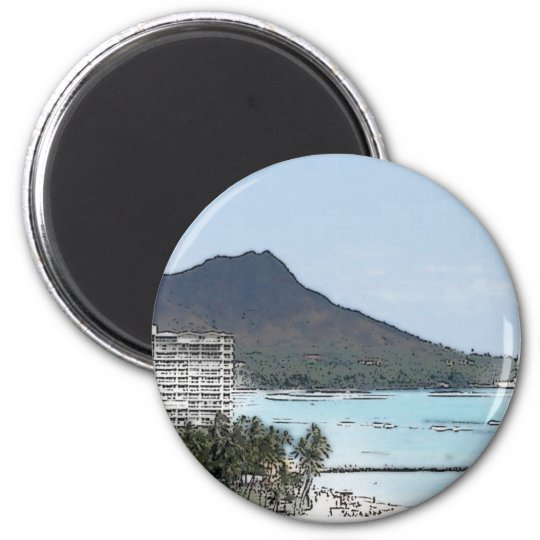 Diamond Head Magnet