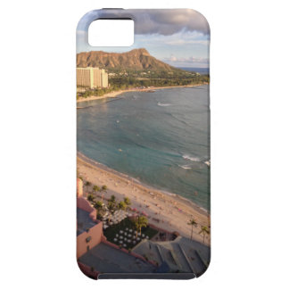Diamond Head, Waikiki Beach, Hawaii iPhone 5 Cover