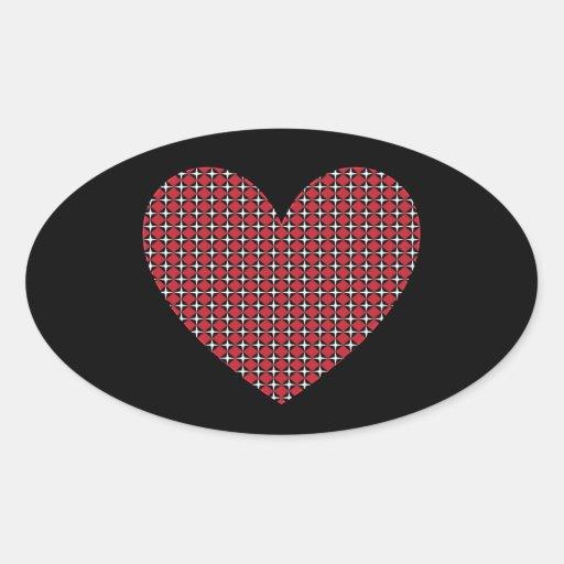 Diamond Heart Sticker