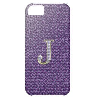 "Diamond ""J"" Bling Iphone 5 ""Barely There"" Case"