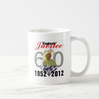 Diamond Jubilee 1952-2012 Basic White Mug