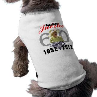 Diamond Jubilee 1952-2012 Pet Shirt