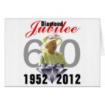 Diamond Jubilee 1952-2012 Greeting Card