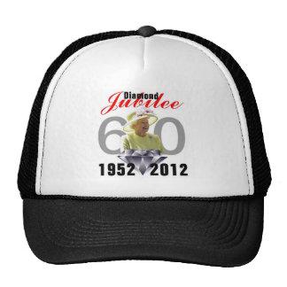 Diamond Jubilee 1952-2012 Trucker Hats