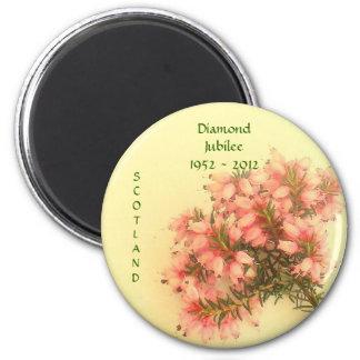 Diamond Jubilee 1952 - 2012  Scotland Magnet