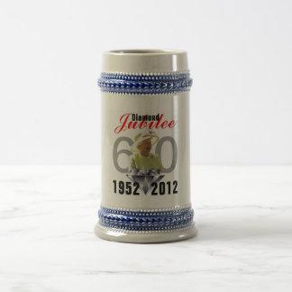 Diamond Jubilee 1952-2012 Stein Beer Steins
