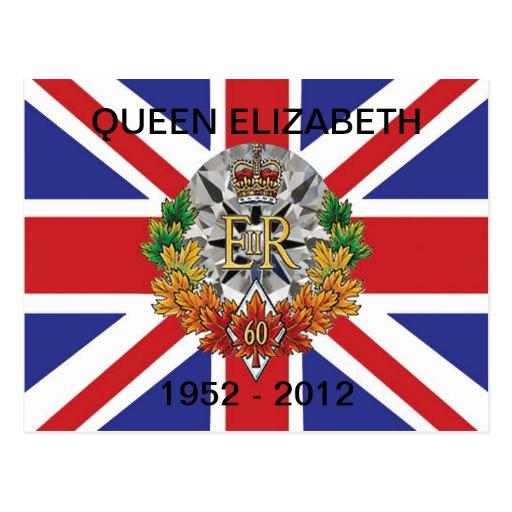 Diamond Jubilee 2012 60th Anniversary  Postcards