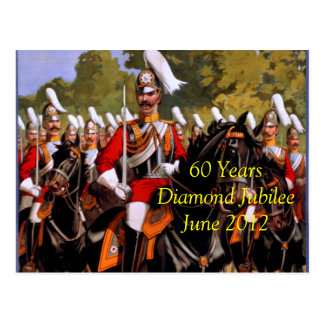 Diamond Jubilee 2012 postcard
