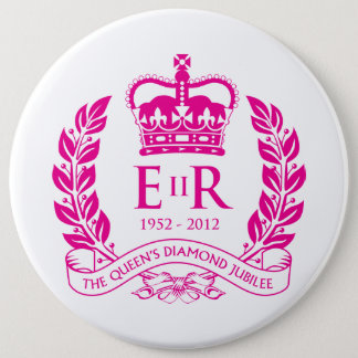 Diamond Jubilee Commemorative Button