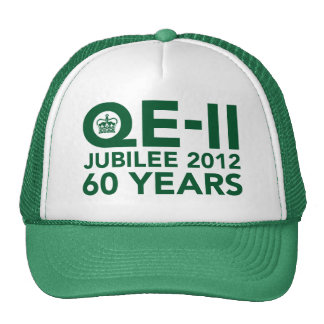 Diamond Jubilee Commemorative Cap Mesh Hats