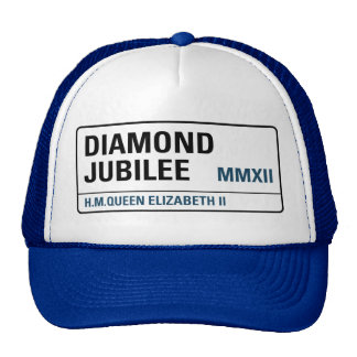 Diamond Jubilee Commemorative Cap [Street Sign]