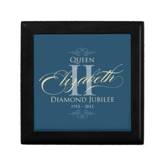 Diamond Jubilee Commemorative Gift/Jewellery Box