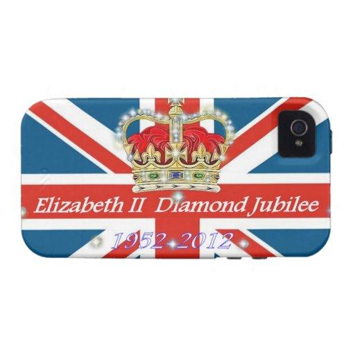 Diamond Jubilee  Commemorative iPhone case Vibe iPhone 4 Cover