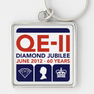Diamond Jubilee Commemorative Keychain