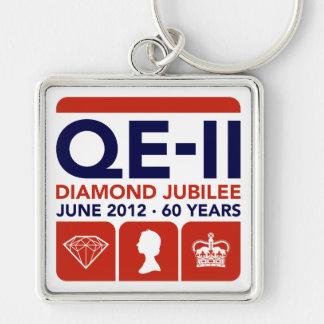 Diamond Jubilee Commemorative Keychain
