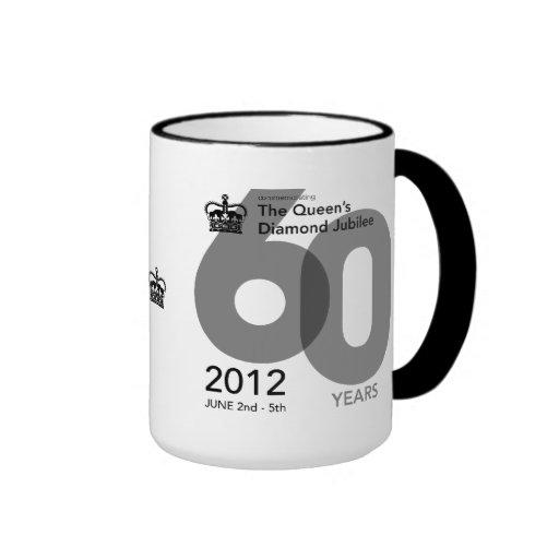 Diamond Jubilee Commemorative Mug [Block]